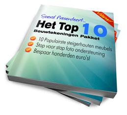 Het TOP 10 Bouwtekeningen Pakket