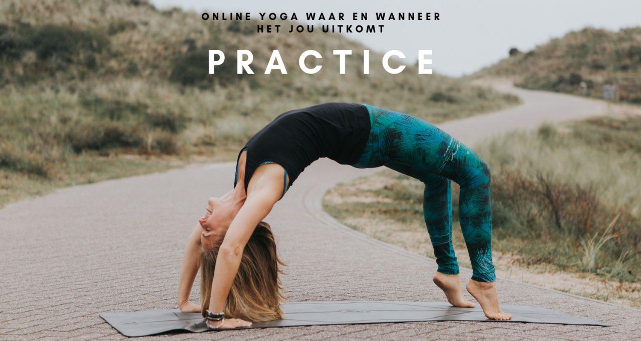 Jaarabonnement Practice Happy with Yoga