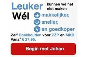 Johan Lite Boekhoudpakket voor de startende ondernemer