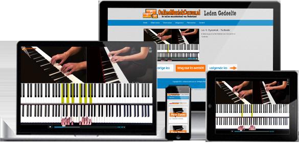 Online pianocursus van onlinemuziekcursus nl