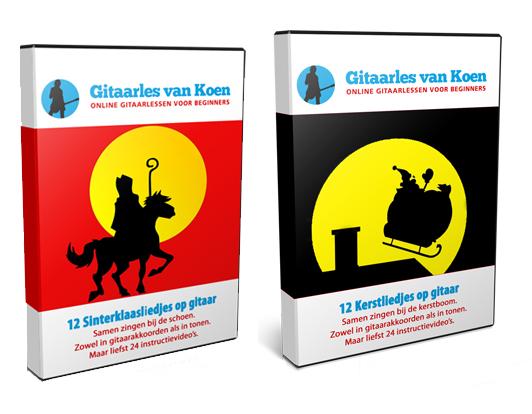 Sinterklaasliedjes en Kerstliedjes op Gitaar leren Spelen